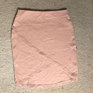 Blush/Nude Skirt